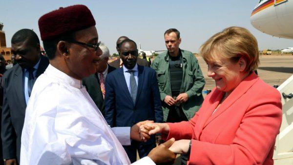Merkel au Niger