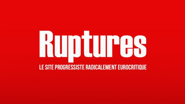 Parution de Ruptures