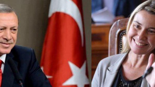 Erdogan et Mogherini