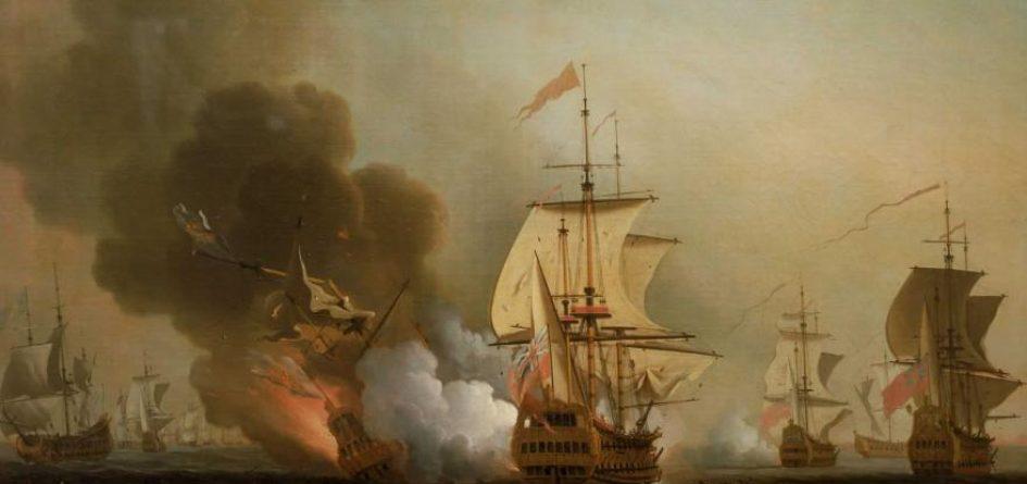 bataille navale 1708