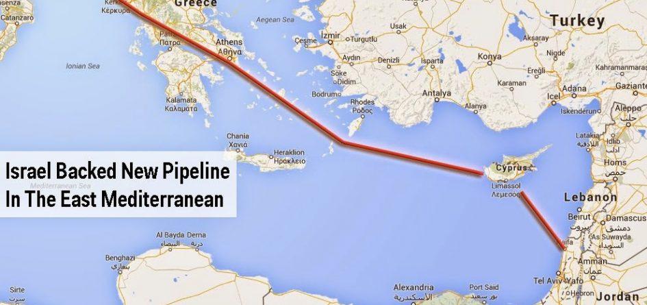 gazoduc israel grece italie
