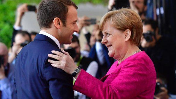 Visite de Macron à Berlin