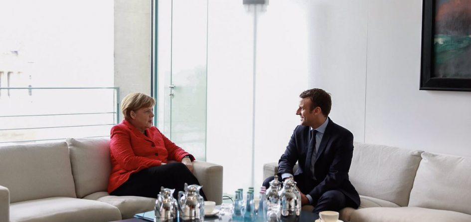 Merkel et Macron à Berlin