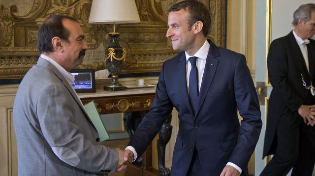La CGT réagit mollement aux projets Macron
