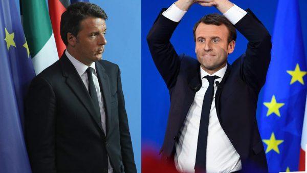 Renzi et Macron