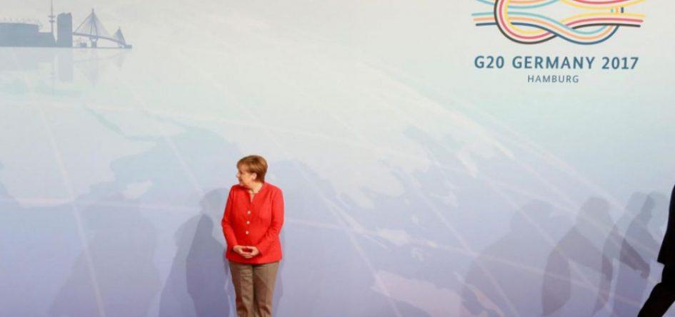 Merkel, hôte du G20