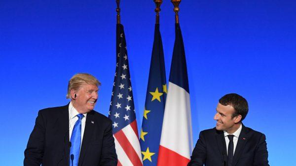 Trump et Macron à l'ONU
