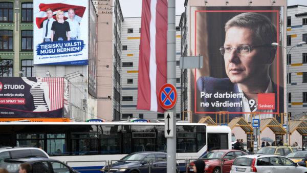 Défaite des sortants en Lettonie