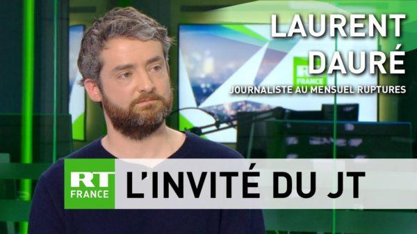 Laurent Dauré dur RT