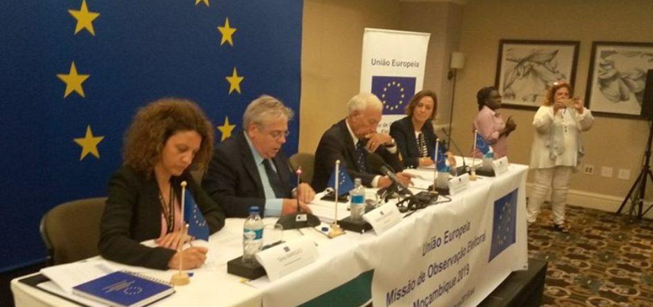 L'UE conteste les résultats électoraux au Mozambique