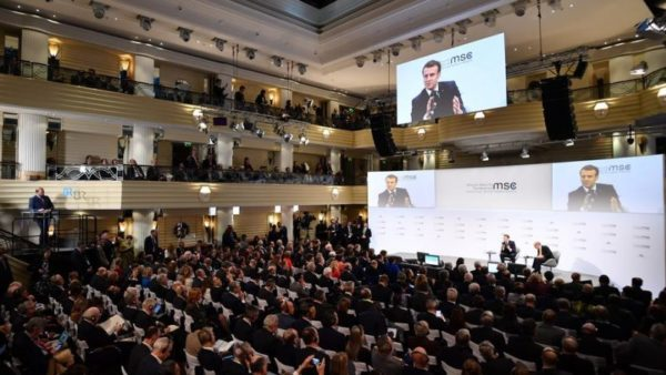 Emmanuel Macron à Munich