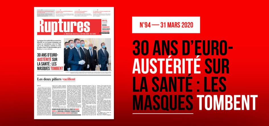 sommaire Ruptures mars 2020