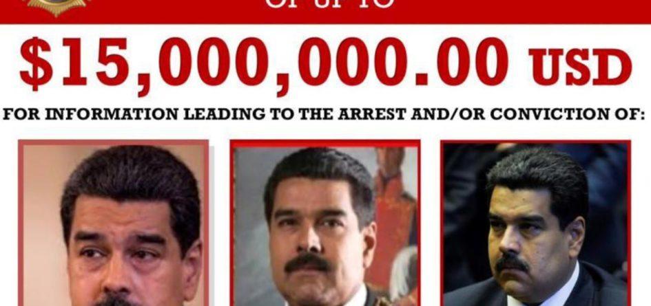 Maduro wanted !