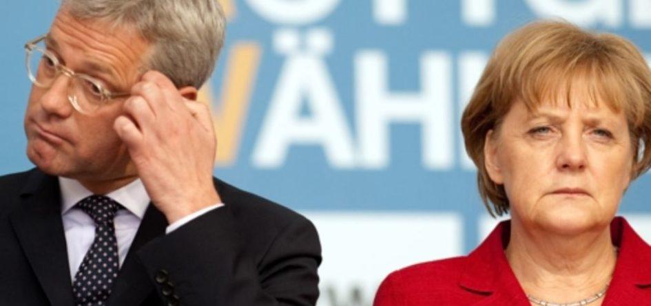 Norbert Röttgen et Angela Merkel