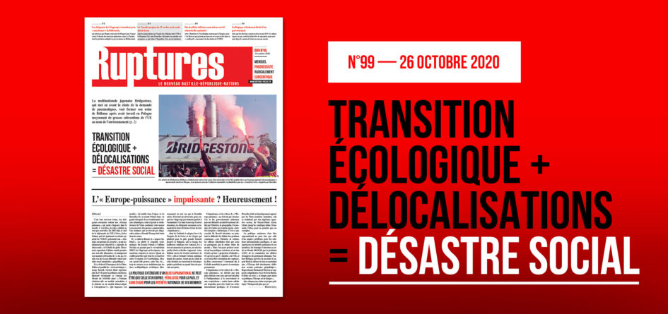 Parution Ruptures Octobre