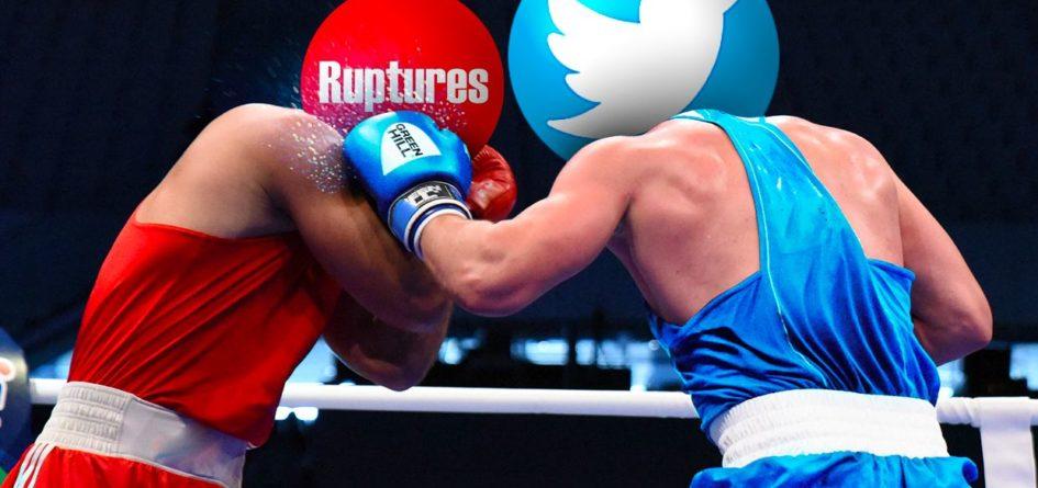 Ruptures contre Twitter